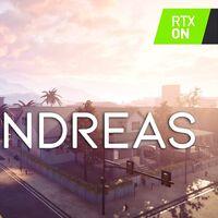 La intro de GTA San Andreas recreada desde cero en Unreal Engine 4 y con mejoras actuales como el ray tracing