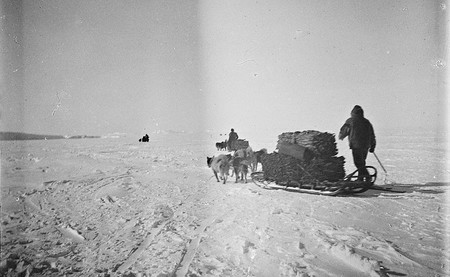 La homérica primera expedición al Polo Sur, narrada a través de 27 emocionantes imágenes