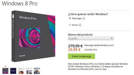 Si quieres actualizarte a Windows 8 hoy finaliza la oferta de lanzamiento de Microsoft