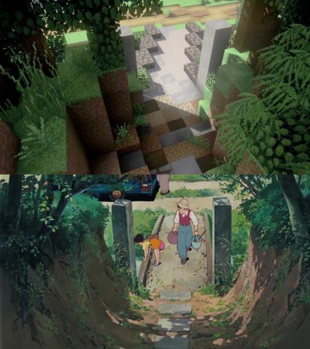 Minecraft Totoro 04