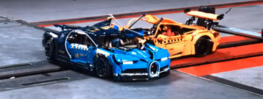 This crash test between the Chiron and the LEGO Technic 911 GT3 RS shows the importance of crash testing