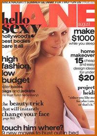 Heidi Klum para Jane Magazine