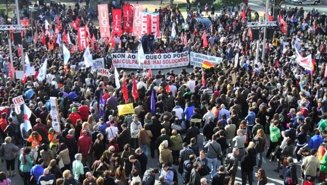 Manifestación 14N Pontevedra