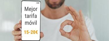 Las mejores tarifas móviles para hablar y navegar entre 15 y 20 euros