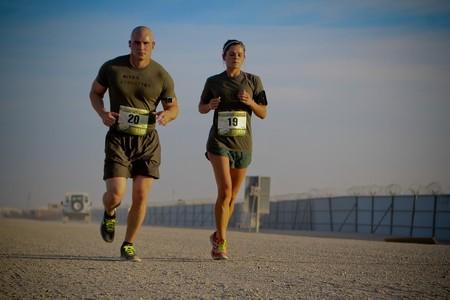 Corredores de maraton