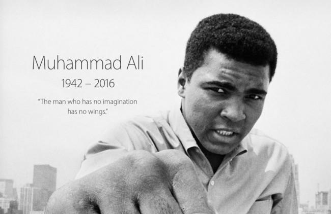 Apple Homenaje Muhammad Ali