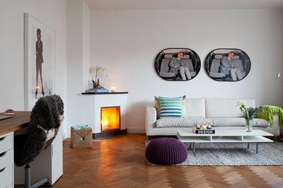 Un apartamento lleno de luz en el centro de Lund