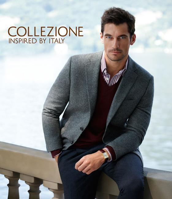 David Gandy Collecione Marks & Spencer