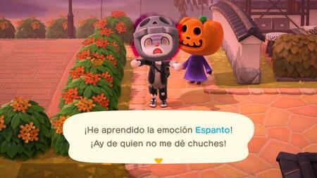 Animal Crossing: New Horizons: cómo conseguir las emociones de Susto y Espanto en Halloween