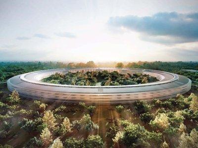 Así es el Apple Park y el Steve Jobs Theater donde se celebrará la keynote de esta tarde