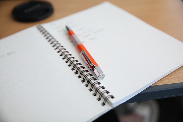 notas manuscritas
