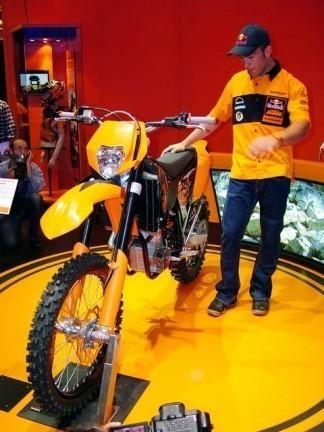 2008 KTM EXC, presentadas en la Semana de la Moto