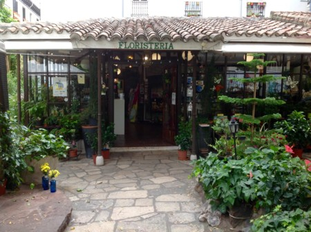 El Jardín del Angel, una floristería de ensueño en medio del Barrio de las Letras
