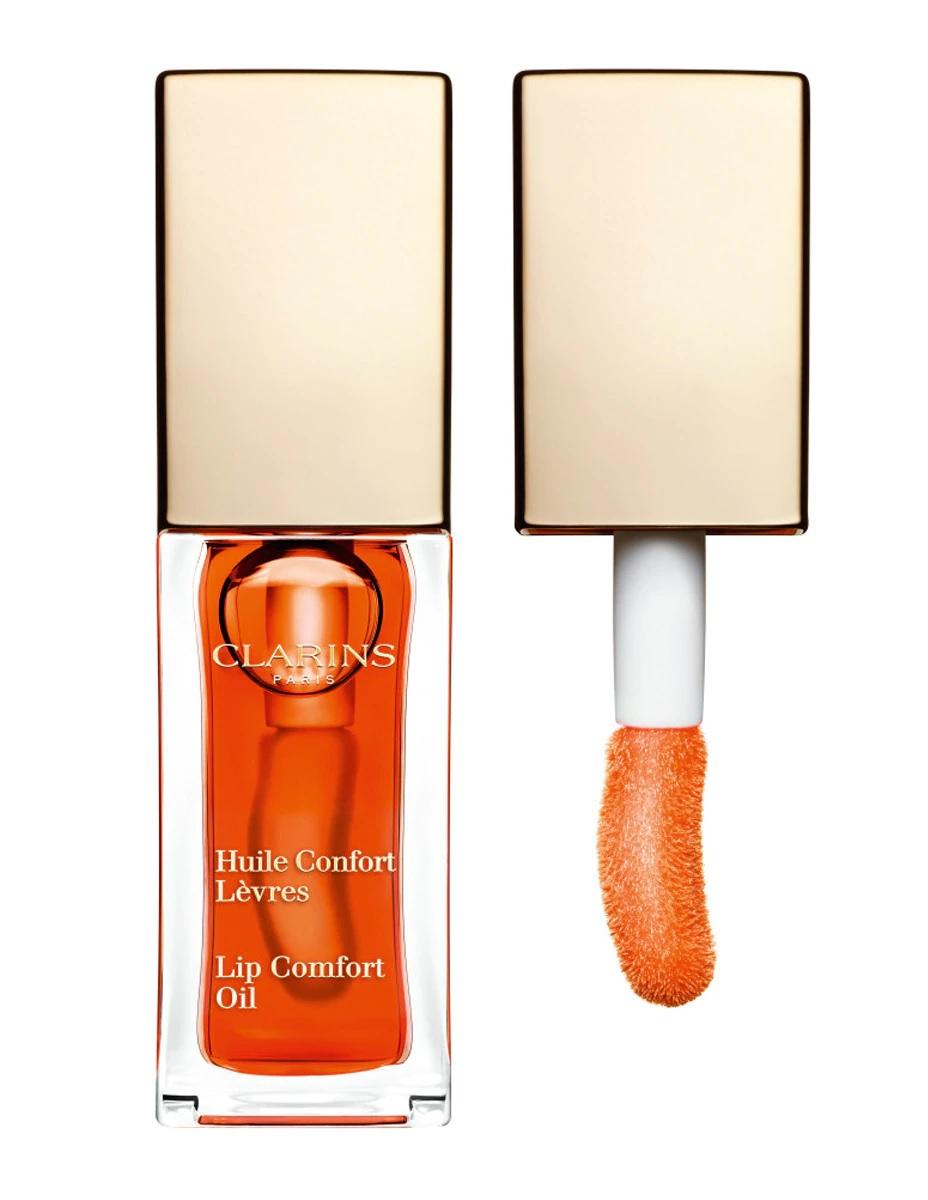 Aceite hidratante con efecto gloss y color de Clarins