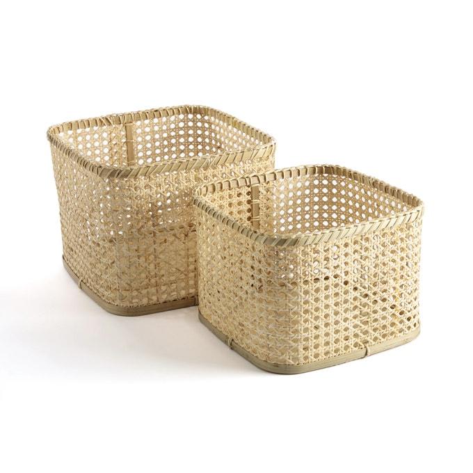 Lote 2 cestas altas