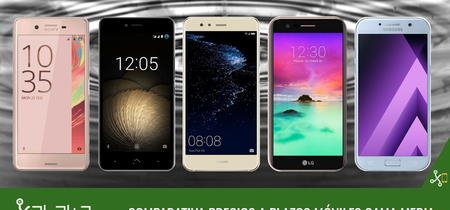 Estos son los mejores precios a plazos para el Huawei P10 lite, Galaxy A5, bq Aquaris U y otros gama media