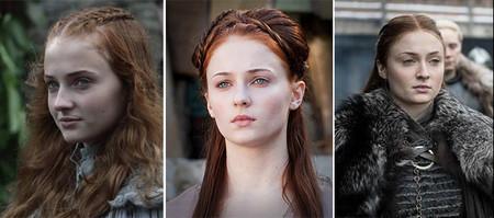 Evolucion Sansa Juego De Tronos