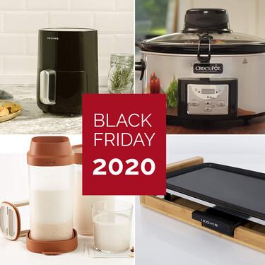 Los mejores accesorios de cocina saludable al mejor precio durante el Black Friday 2020: freidoras sin aceite, Crockpot y más