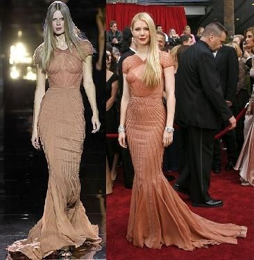 Gwyneth Paltrow de Zac Posen