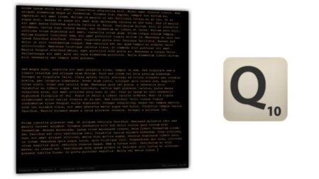 Q10, el editor de textos minimalista que habla castellano