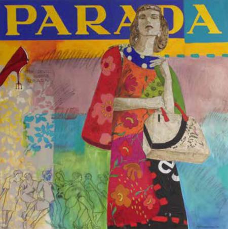 El Glamourama de Carmen Casanova ahora en la Galería Herráiz para la II Edición de la exposición Cuadro Solidario