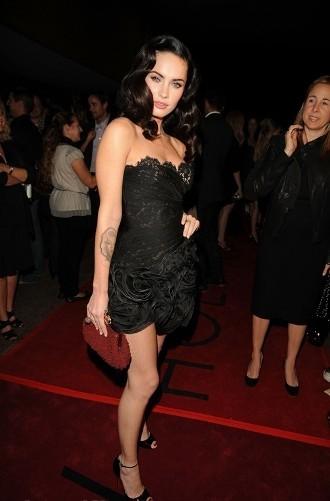 Megan Fox promocionando Jennifer's Body en el Festival de Cine en Toronto.