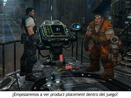 StarCraft II - Product placement de Coca-Cola