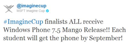 ¿Podría adelantarse Windows Phone 7.5 Mango a septiembre?