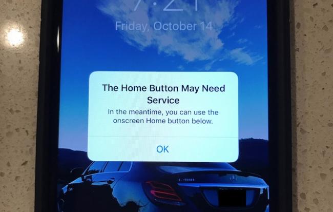 Iphone 7 Aviso Haptico