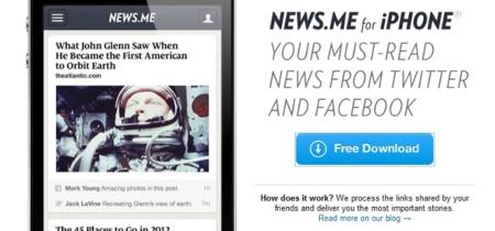 News.me cuenta ya con aplicación para iPhone