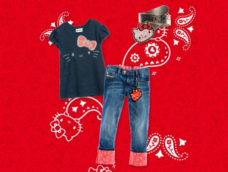 Hello Kitty protagoniza una colección cápsula de Diesel para niña