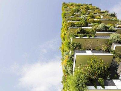 """Éste es el primer 'Bosque Vertical' de Asia: tendrá más de 3.000 plantas para que """"se coman"""" la polución"""