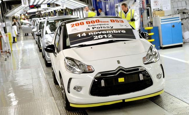 Citroën DS3, 200.000 unidades