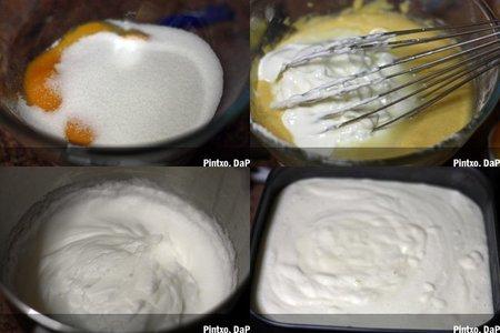 Pastel turco de yogur. Pasos