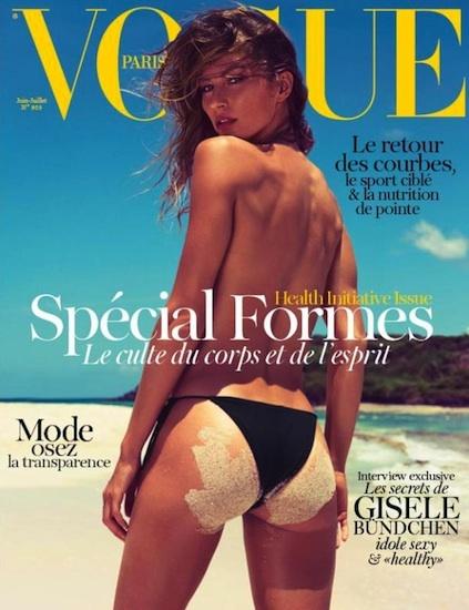 ¡Viva Vogue Paris, Gisele Bündchen y el verano!