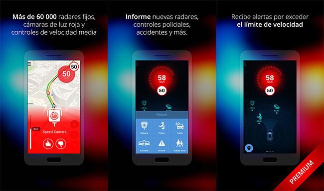 Aplicaciones de radares para Android