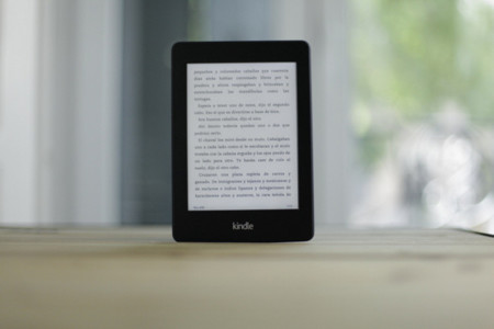 kindle paperwhite lectura
