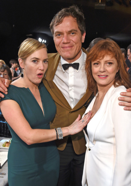 Kate Winslet, Michael Shannon y Susan Sarandon
