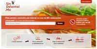 SinDelantal.Mx un sitio para pedir comida en línea llega a México