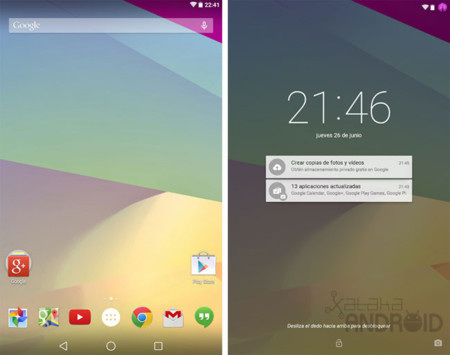Android L Developer Preview, toma de contacto