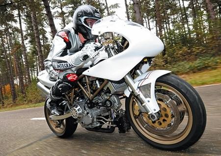 Ducati V-One, la sinfonía inacabada de Bart Crauwels
