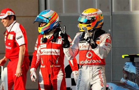 "Lewis Hamilton: ""Aprendí un montón de Fernando Alonso"""