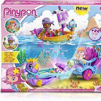 El set de Pinypon: Carruaje de sirenas y bote pirata cuesta sólo 19,90 euros en Amazon
