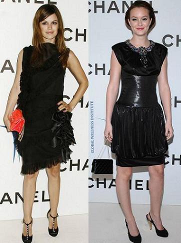 Rachel Bilson y Leighton Meester en la inauguración de una nueva boutique de Chanel en Los Angeles