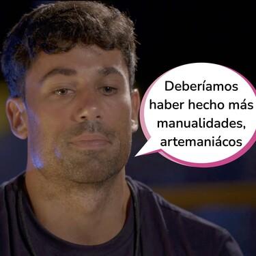 Diego sorprende con esta madura reflexión sobre su relación con Lola tras verla durante diez minutos en 'La Isla de las Tentaciones 3'