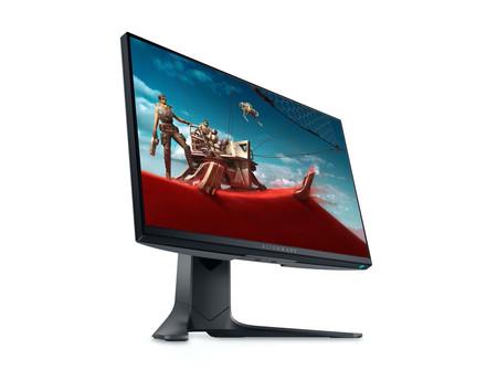 Dell apunta al segmento gamer con su nuevo monitor: el Alienware 25 que llega con 360 Hz y el llamativo soporte AlienFX RGB