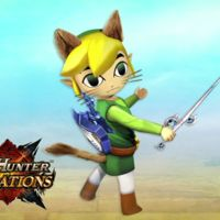 Cartoon Link es el nuevo invitado de Monster Hunter Generations