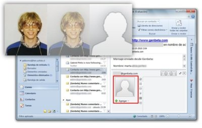 Imagen de la semana: Outlook 2010 esconde la silueta de Bill Gates arrestado