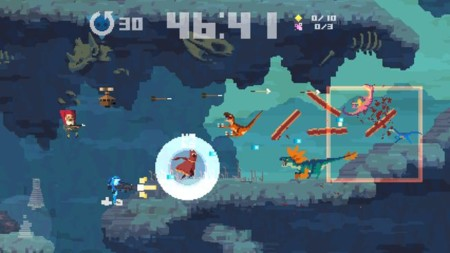 Los personajes exclusivos de Super Time Force en consolas Playstation son una locura