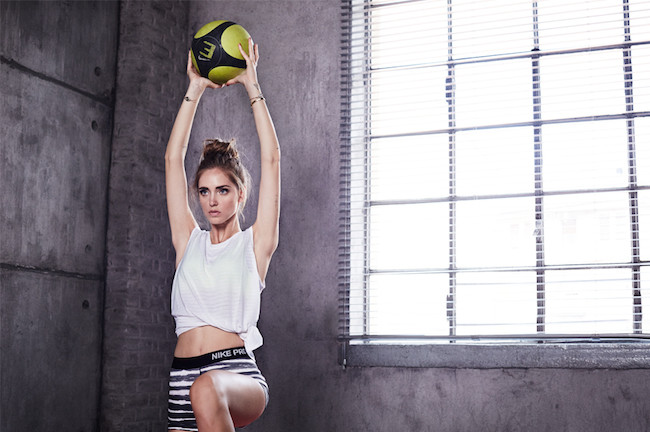 The Blonde Salad Nike Training Ball